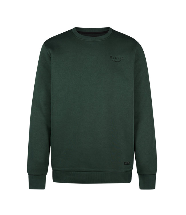 Mystic Rider Crew Sweat - Cypress Green