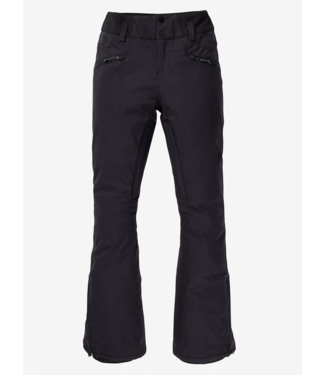Burton W Marcy Hochhaus Stretchhose True Black