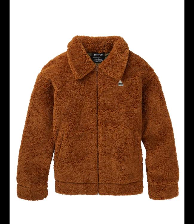 Burton Lynx Full-Zip Reversible Fleece Jacket True Penny / Martini Olive