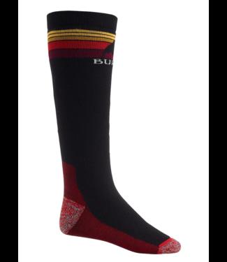 Burton M Emblem Mittelgewicht Socke True Black