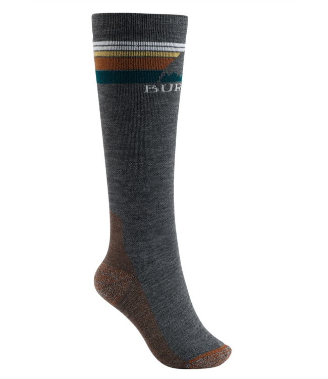 W Emblem Midweight Sock True Black