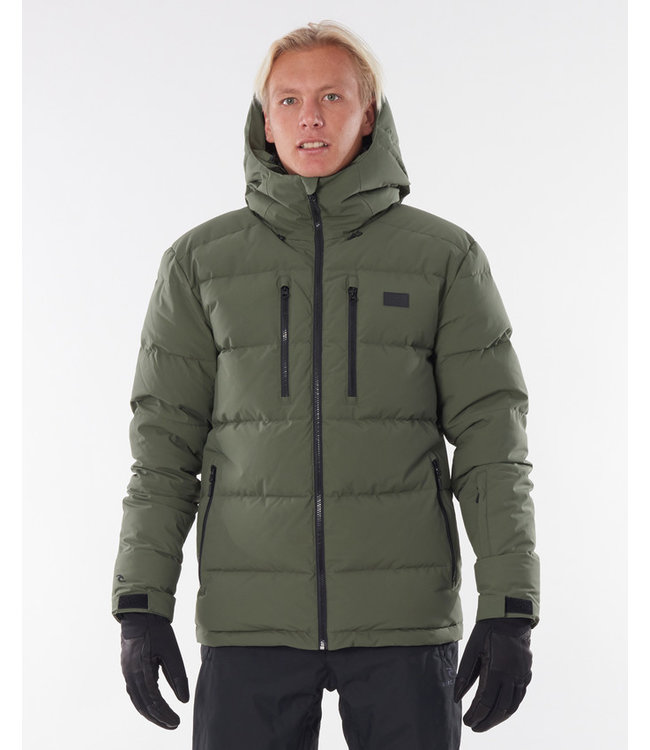 Rip Curl Blaze Down Snow Jacket - Forest Green