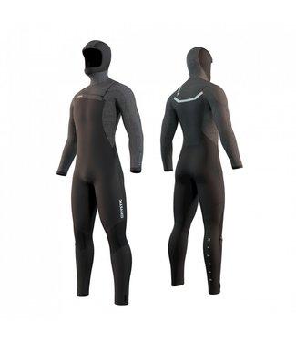 Mystic Voltt Hooded Fullsuit 6/4/3mm Fzip - Black