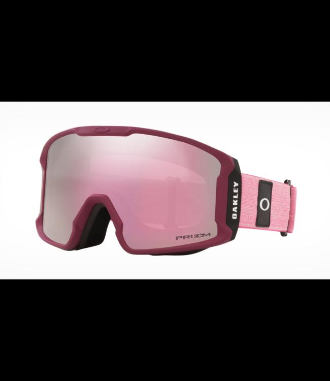 Oakley Line Miner ™ XM Heather Grenache Rubin I Prizm Schnee Hi Pink
