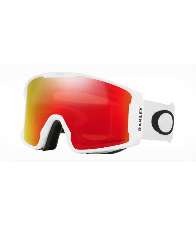 Oakley Line Miner™  Matte White I  Prizm Snow Torch Iridium