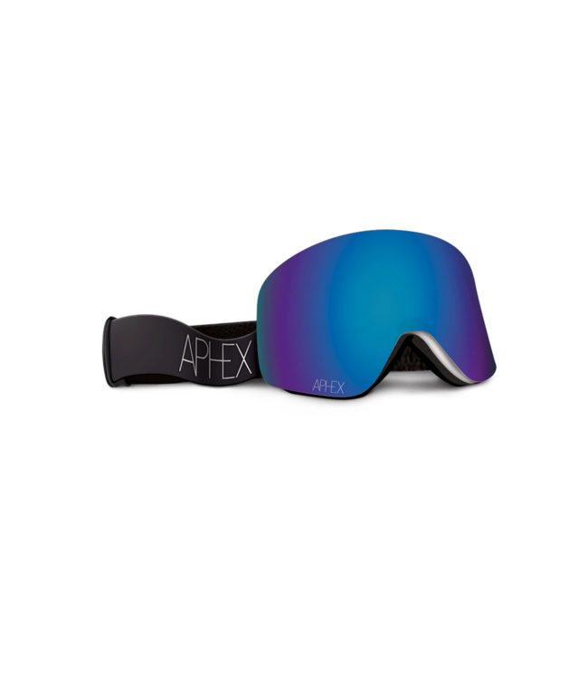 Aphex Oxia Matt Black - Revo/Blue