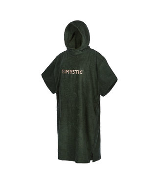 Mystic Poncho Regular - Dark Leaf Blue