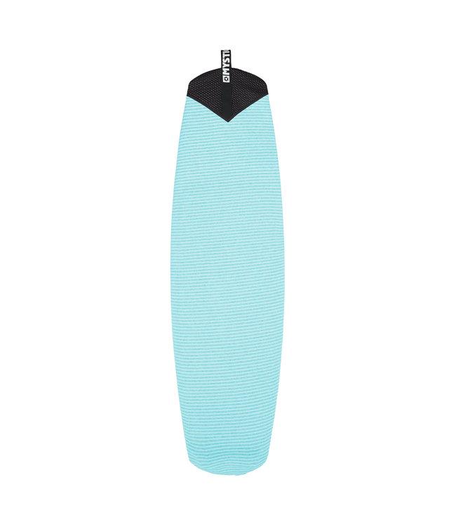 Mystic Boardsock Stubby - Mint Middenblauw