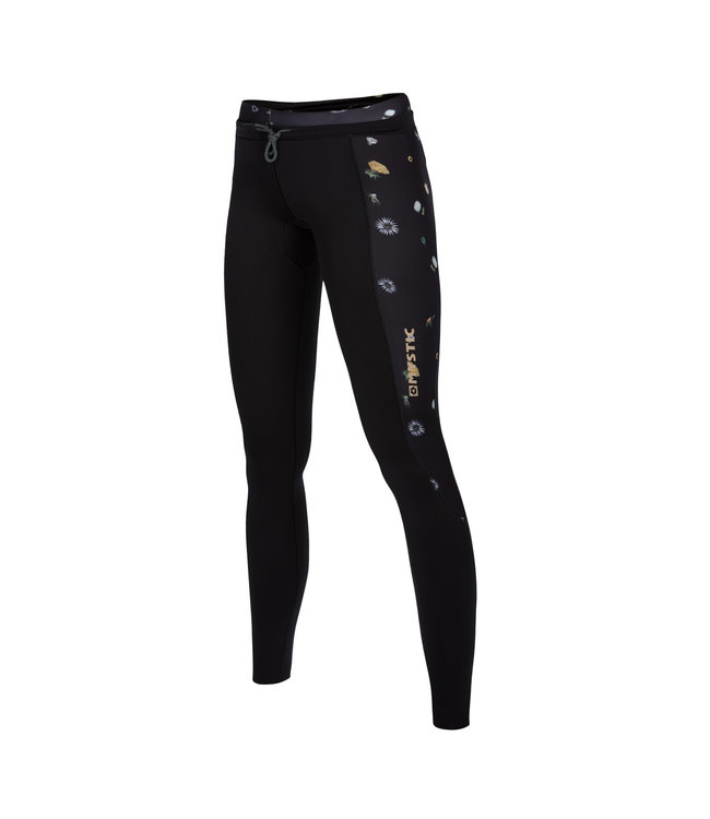 Mystic Diva Neo Pants 2/2 Bzip - Blac Black