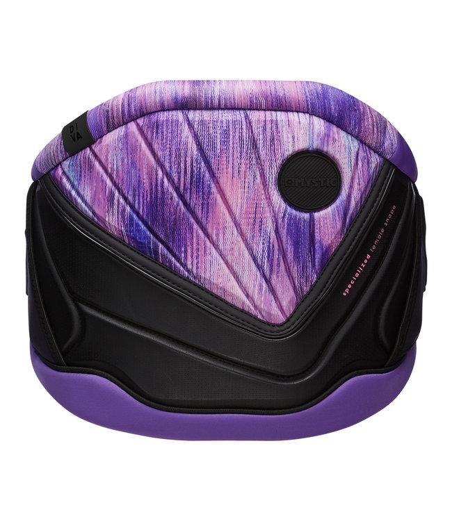 Mystic Diva Waist Harness Women - Black/Purple