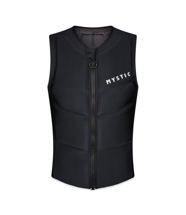 Mystic Star Impact Vest Fzip Kite - Black
