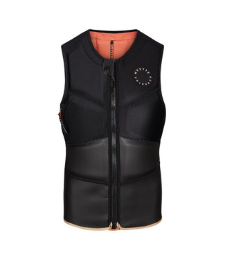 Mystic Gem Impact Vest Fzip - Black Black
