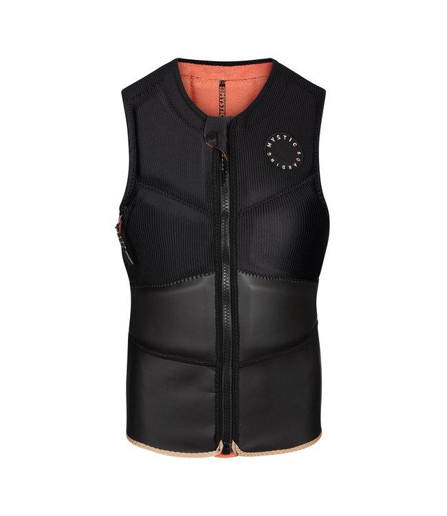Mystic Gem Impact Vest Fzip Kite Women - Black