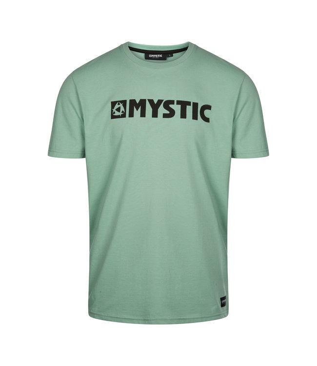 Mystic Brand Tee - Seasalt Green