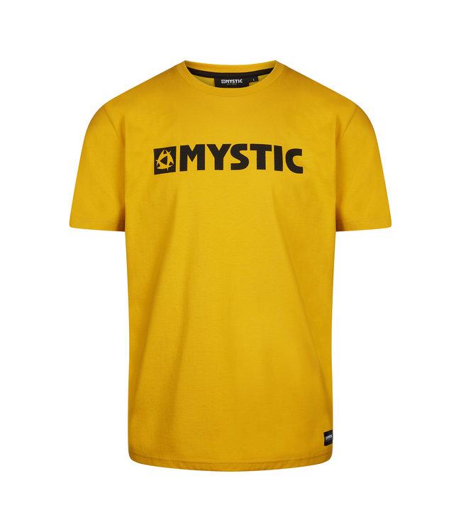 Mystic Brand Tee - Mustard