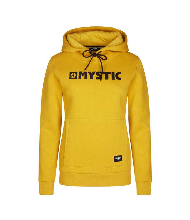 Mystic Brand Hoodie Sweat Women - Mustard