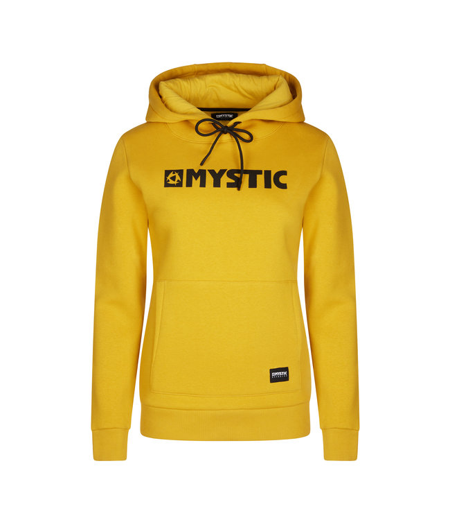 Mystic Brand Hoodie Sweat Women - Senf