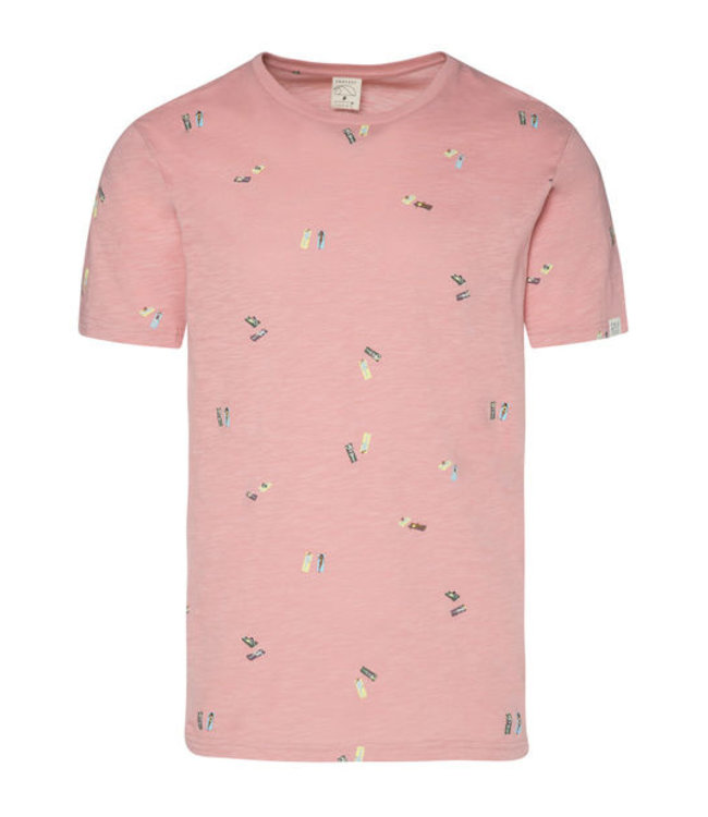 Protest Belmont T-Shirt - Silber Pink