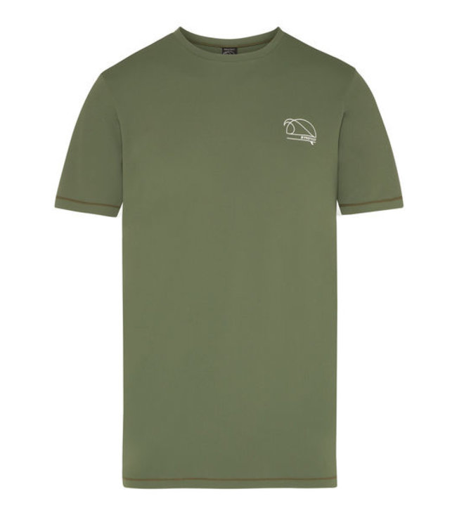 Protest Rapter 21 Surf T-Shirt - Fichte