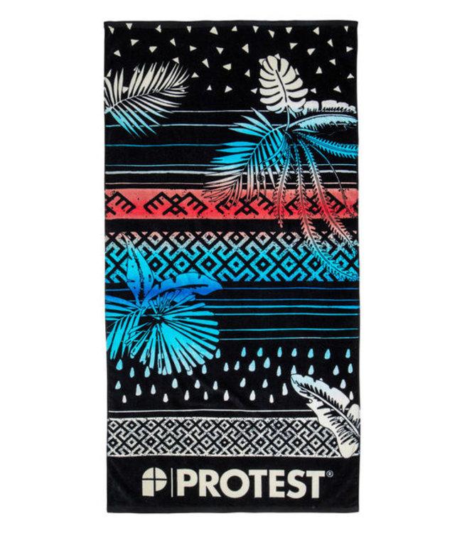 Protest Manfred 21 Towel - True Black