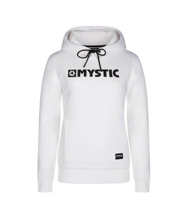 Mystic Brand Hoodie Sweat - White