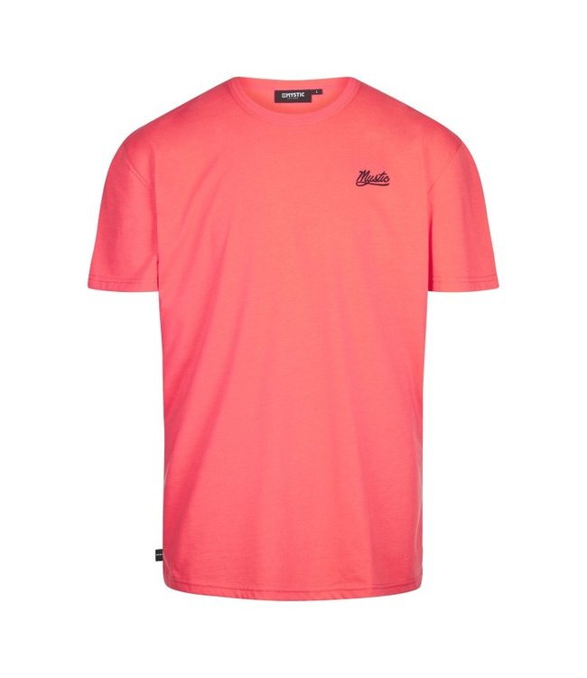 Mystic Classic Tee - Coral Red