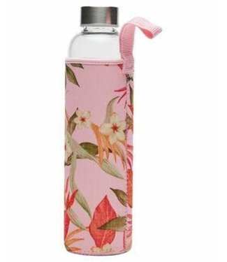 Rip Curl North Shore Glass Bottle - Light Pink