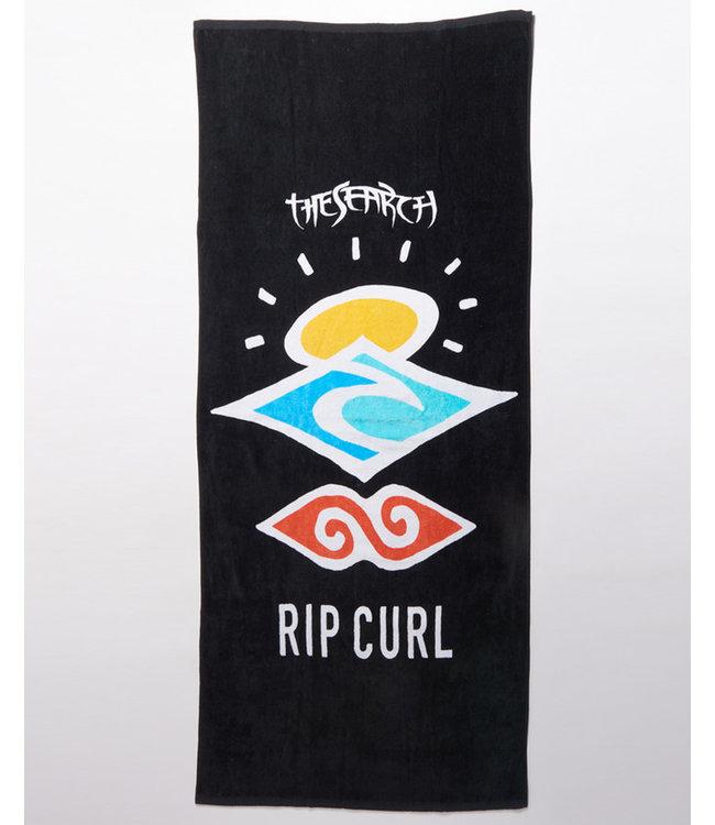 Rip Curl Icons Handtuch - Schwarz