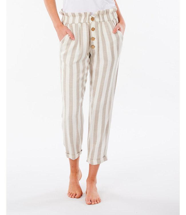 Rip Curl Ashore Stripe Pant - Taupe