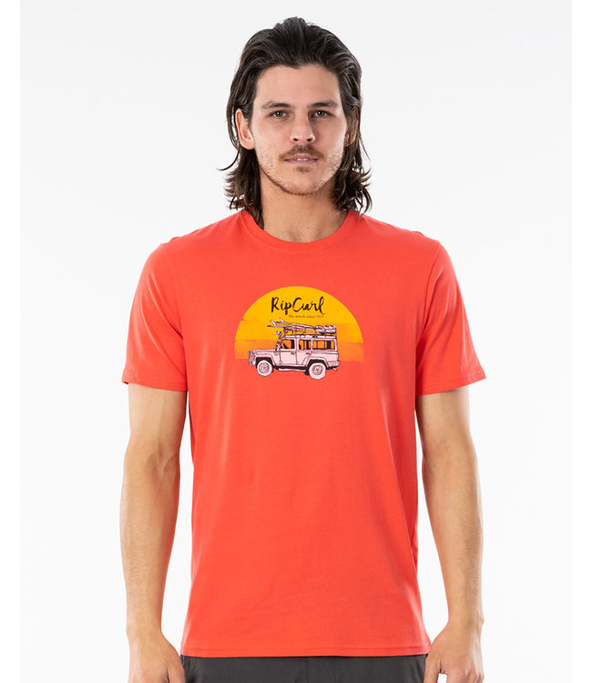 Rip Curl Endless Search Tee - Cayenne