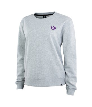 Duotone Sweater TEAM WMS - Grey/Melang Black
