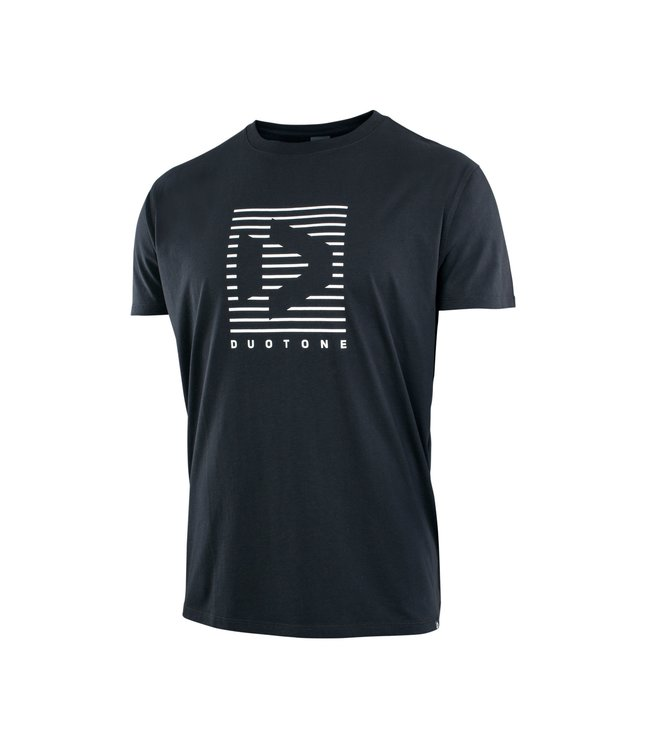 Duotone Tee SS 4 THE TEAM - Black