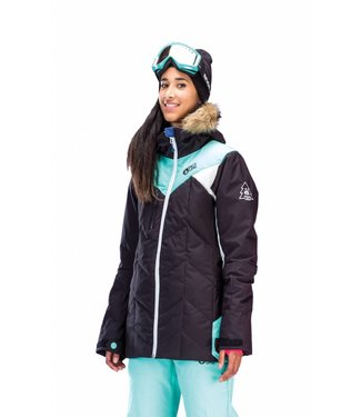 Picture Organic Fly Friends Jacket Black Mint