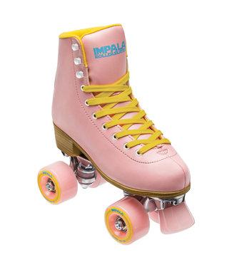 Impala Rollerskates Quad Skate - Pink/Yellow