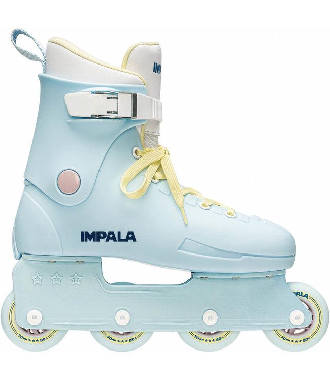 Impala Rollerskates Inline Skate - Sky Blue/Yellow
