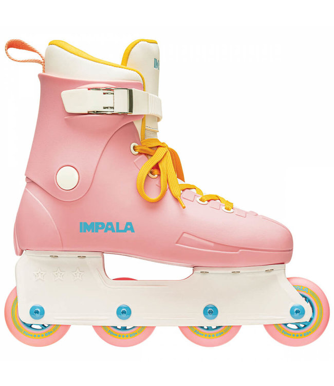 Impala Rollerskates Inline Skate - Pink / Gelb