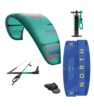 North kiteboarding Reach 2021 Kite set