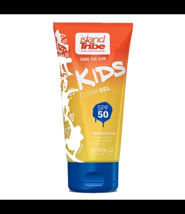 Island Tribe  SPF 50 KIDS Clear Gel 50ml