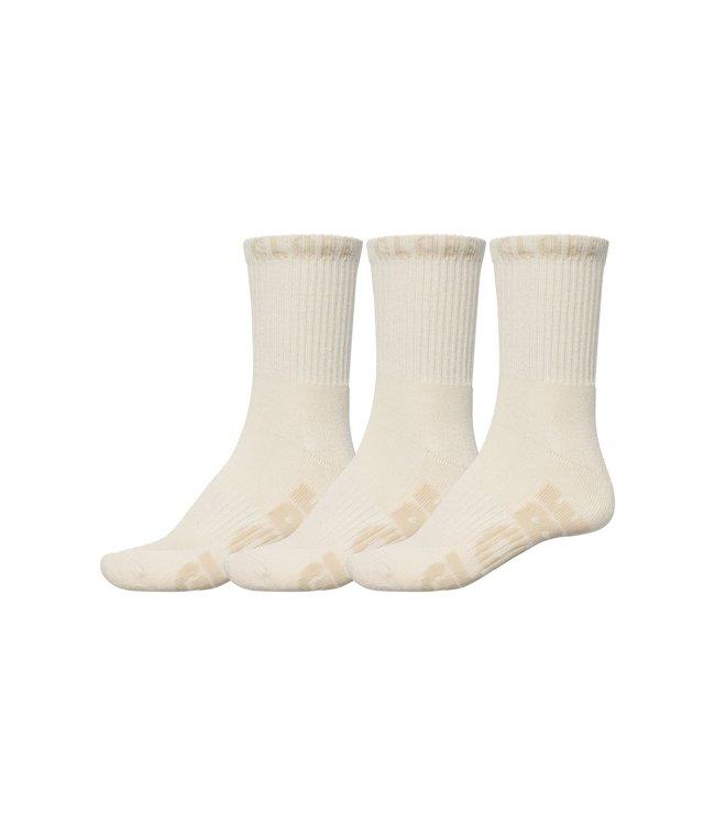 GLOBE Bleach Free Crew Sock 3Pack