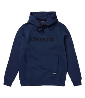 Mystic Brand Hood Sweat - Night Blue