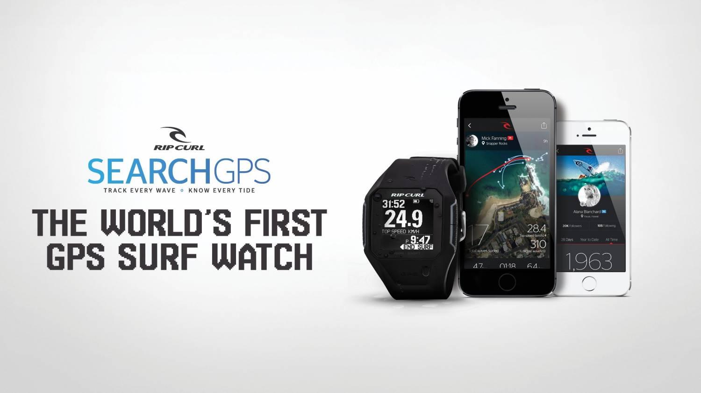 The Rip Curl SearchGPS Watch