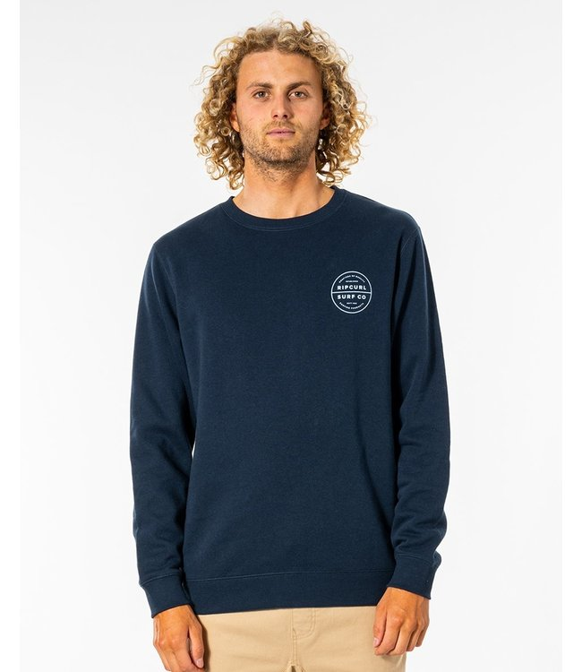 Rip Curl Re Entry Crew  - Navy