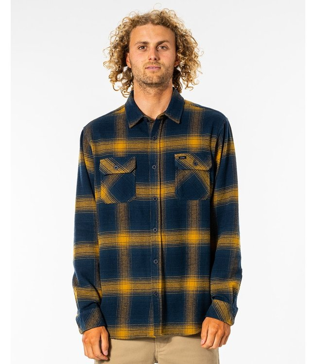 Rip Curl Count L/S Shirt - Gold