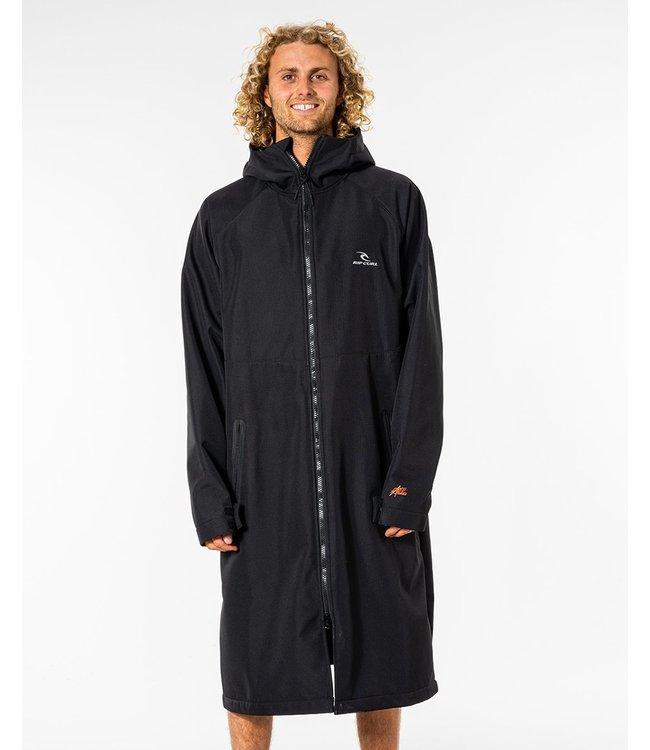 Rip Curl Anti-Series Hooded Poncho  - Black