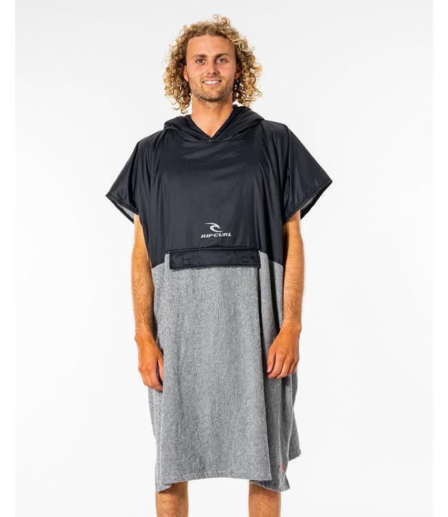 Rip Curl Viral Anti-Series Hood Towel  - Black/Grey