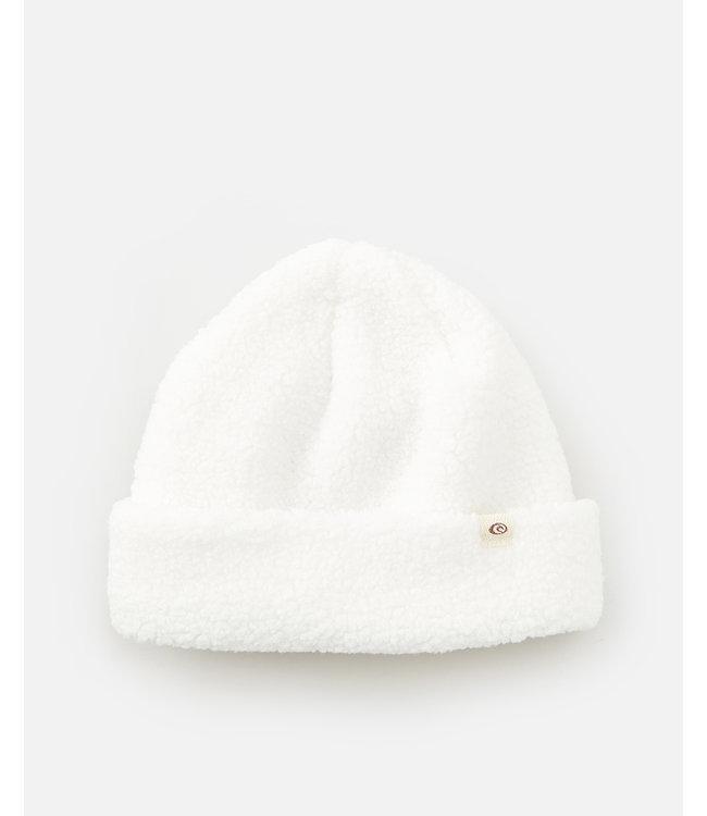 Rip Curl Sherpa Beanie  - Off White