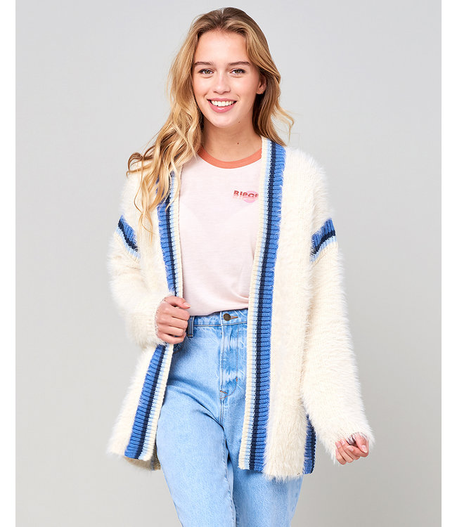 Rip Curl Sea View Soft Cardigan  - Off White