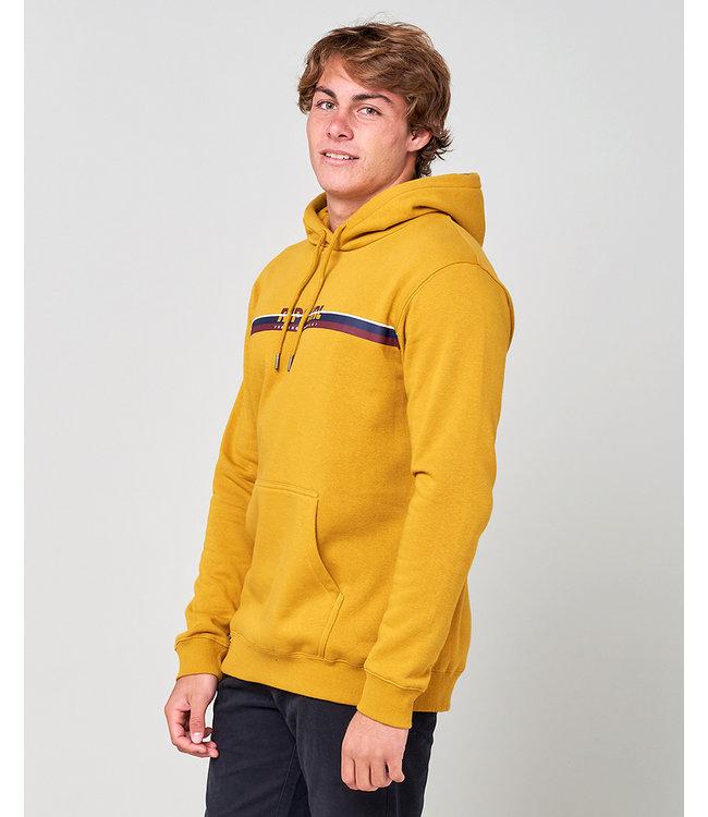 Rip Curl Sr Horizon Hood Fleece  - Mustard