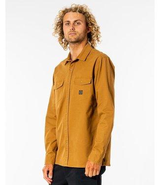 Rip Curl Episches L/S Hemd - Gold