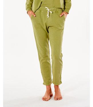 Rip Curl Organic Fleece Track Pant  - Green Olive
